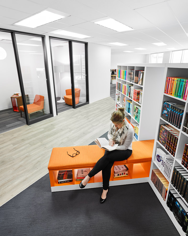 A different space for Penguin Random Houses' staff to step away from their desks