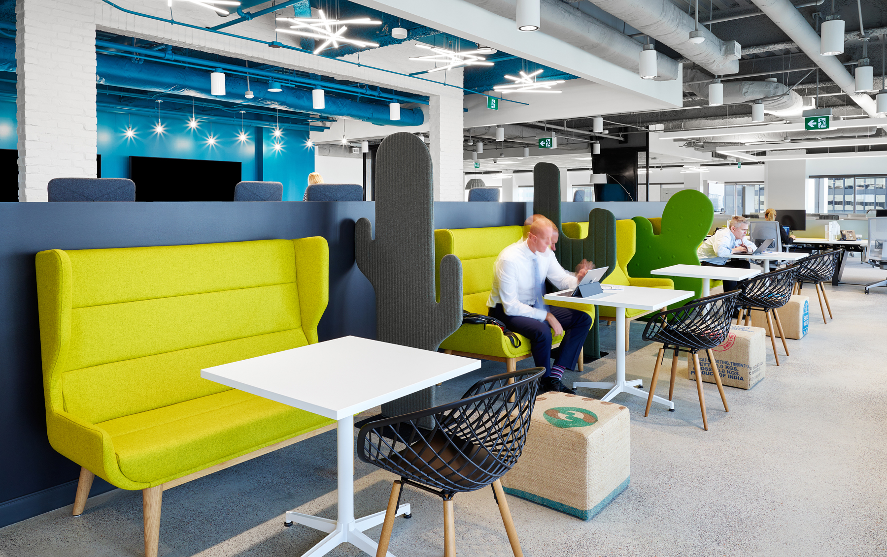Aviva touch down spaces