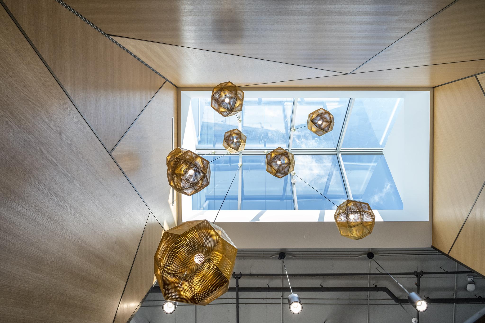 TDS skylight with lights